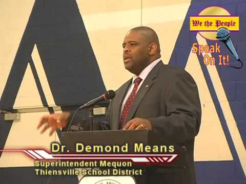 NAACP Education Summit for Wisconsin:  Keynote Address by Dr Demond Means