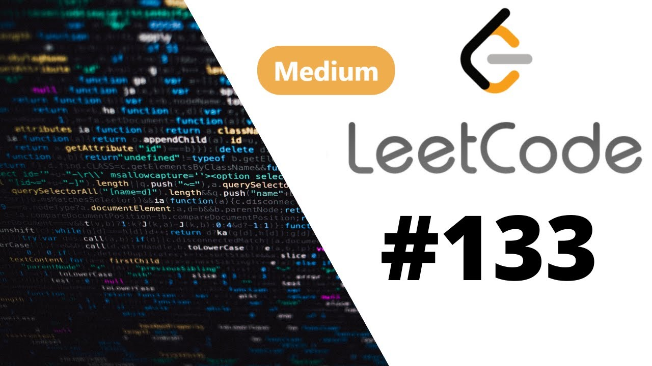 [Java] Leetcode 133. Clone Graph [Search #7]