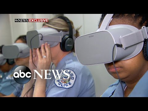 New VR tech aims to help cops feel mental distress