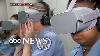 New VR tech aims to help cops feel mental distress
