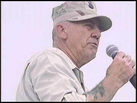 R Lee Ermy at Tallil Ali AB, Iraq May 2003