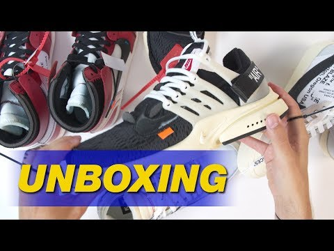 """Off-White x Nike """"The Ten"""" by Virgil Abloh 