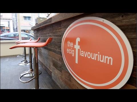 The <b>Ecig Flavourium</b> | New *Beaches* Location - YouTube
