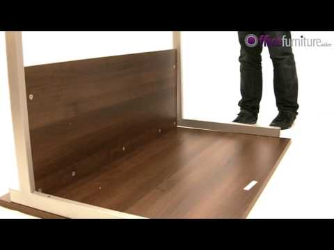 Office Desk Assembly - Solar Cantilever Office Desk