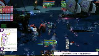 #Archeage 6.1.9 Delphinad Ghost Ship #Free_Island Ebonsong #PvP