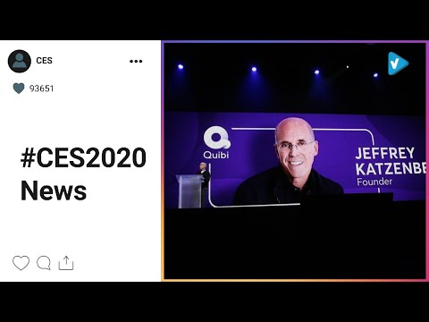 #CES2020 Hot Updates: This morning @quibi talked about how their new content platform works,