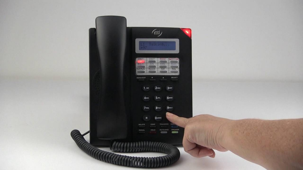 Esi 30 Business Phone Record Name And Greeting Youtube
