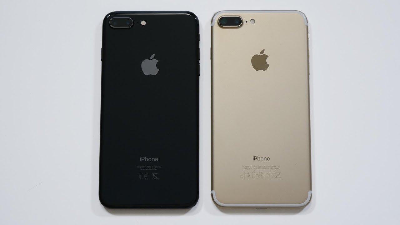 Айфон 7 и Афйон 8