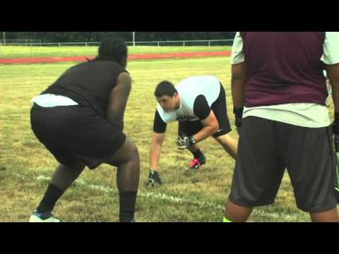 Junior Linemen 1 on 1
