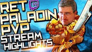 BFA Ret PvP: Stream Highlights (Paladin Arenas)