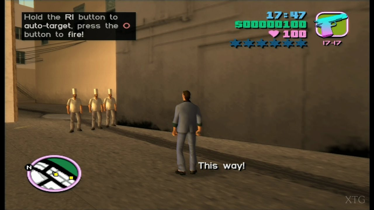 Grand Theft Auto: Vice City Playstation2