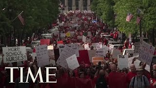 North Carolina Teachers March On State Capital In Mass School Walkout | TIME