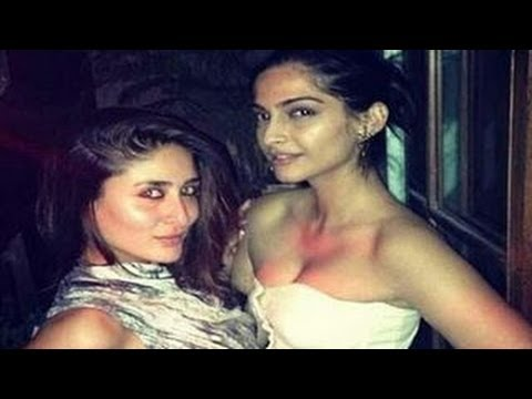 Kareena Kapoor & Sonam HOT PARTY pictures