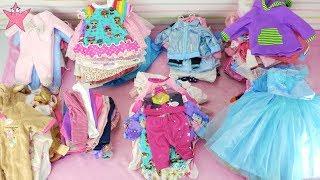 Cómo organizar la ropa de mis bebés Baby Born Bruno Abril y las trillizas