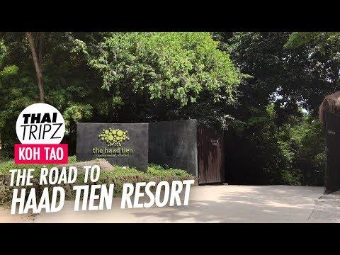 Road To Haad Tien Beach Resort - Koh Tao, Thailand