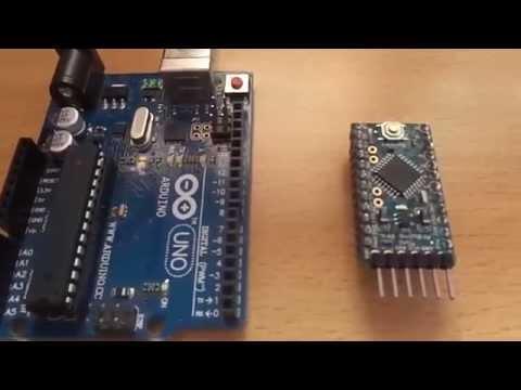 Program Arduino mini using arduino uno board
