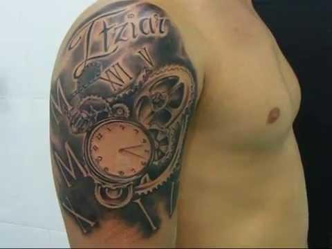 Tatuaje Reloj Bolsillo Youtube