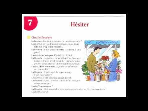 Dialogue En Français Nº:10 - Hésiter - Chez le fleuriste
