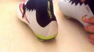 Unboxing - Aliexpress #25 Shoes soccer football nike superfly 4 scarpe da calcio white bianche