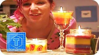 Bunte Kerzen gießen | DIY | ToolTown