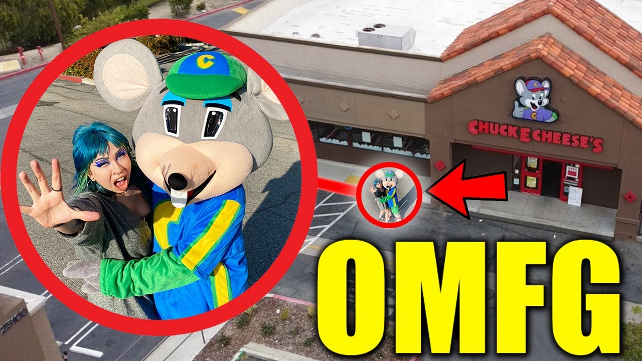 Download DRONE CATCHES GIRLFRIEND CHEATING WITH CHUCK E CHEESE.EXE AT HAUNTED CHUCK E CHEESE!! (SCARY)