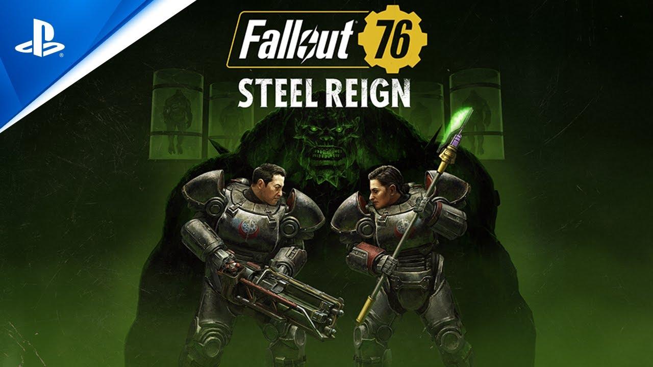 Fallout 76 – Steel Reign - Trailer de atualização   PS4