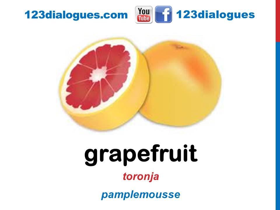 Curso de ingl s 33 frutas en ingl s vocabulario - Alimentos en ingles vocabulario ...