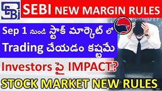 SEBI MARGIN RULES - IMPACT ON STOCK MARKET TRADING
