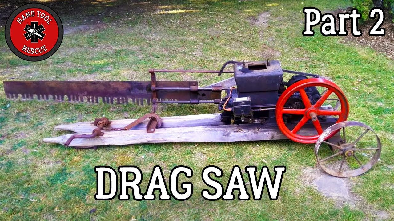Antique Drag Saw [Restoration] - Part 2: Will It Run?
