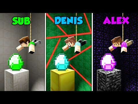 SUB vs DENIS vs ALEX - SPY MISSION in Minecraft! (The Pals) thumbnail