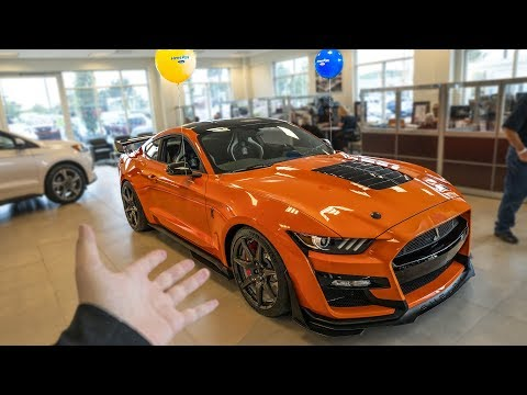 FIRST 2020 SHELBY GT500 DEALER DELIVERY! *FINALLY HAPPENING*
