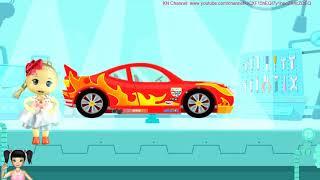 BabyBus - Tiki Mimi và trò chơi búp bê giúp chú khủng long sửa xe