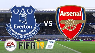 Everton vs Arsenal - 5 Goal Thriller!! - Premier League 2018/19 Season - FIFA 19