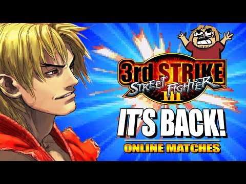 IT'S BACK: Ken - 3rd Strike Online Edition - Ranked Matches