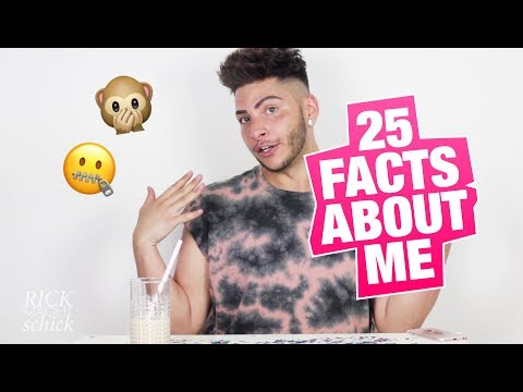 25 facts about me! | Rick macht schick