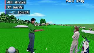 Pebble Beach Golf Links USA Japan SEGA SATURN HYPERSPIN NOT MINE VIDEOS