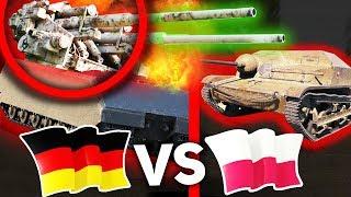 POLSKA vs NIEMCY - WORLD OF TANKS