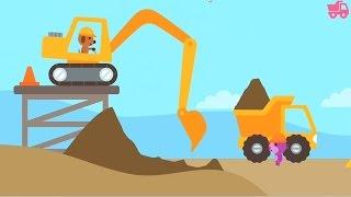 Sago Mini - Trucks and Diggers   Cranes   Trucks   Construction