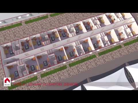 Red Sea Housing Prefabricated Modular Accommodation Camp Construction