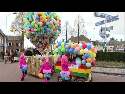 Carnavalsoptocht Vlijmen 2016