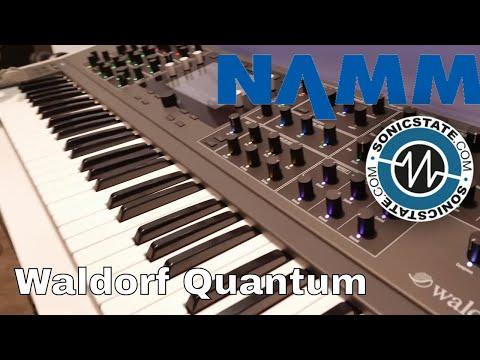 NAMM 2018 Waldorf Quantum