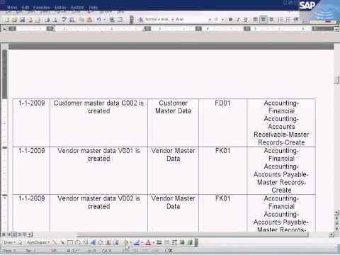 SAP Create Vendor Master Data