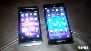 BlackBerry Z3 Android App Performance Comparison to Z30, Z10