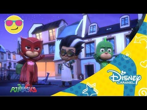PJ Masks: Gatuno contra Rob - gato | Disney Channel Oficial
