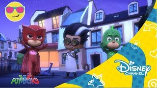 disney channel espaa   pj masks gatuno contra rob gato