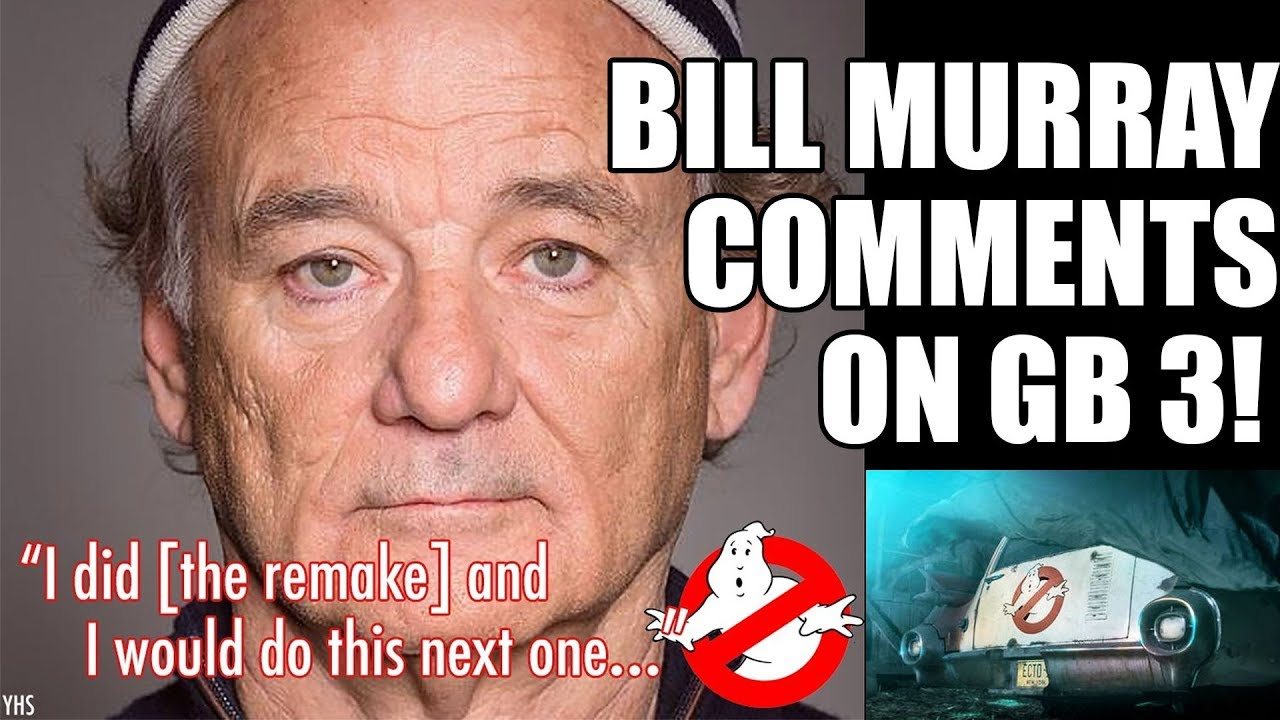 Bill Murray Confirmed for Ghostbusters 3?