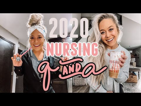 NURSING Q&A: BIGGEST FEARS? MED ERRORS? QUITTING NIGHT SHIFT? | WINTER 2020 | Holley Gabrielle