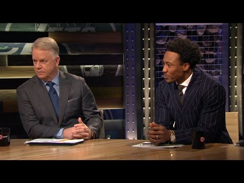 promo code 60f2e 4ce44 Brandon Marshall on Jets Season | INSIDE THE NFL - YouTube