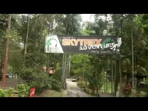 SkyTrek High Ropes Course Kuala Lumpur | Malaysia Exchange