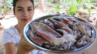 Yummy cooking Squid recipe - Natural life tv cooking